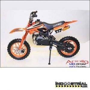 Dirt Bike APOLLO MIDI 49 CC | Naranja