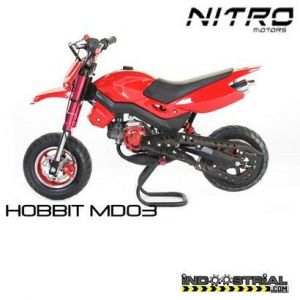 Dirt Bike HOBBIT 49 CC | Rojo