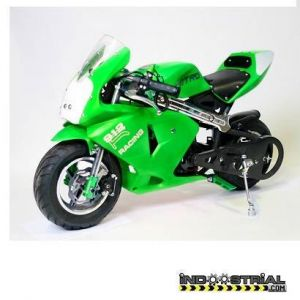 Pocket Bike PS912 49 CC | Verde